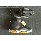 Levi's x Air Jordan 6 Black Denim Mens Shoes