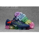 Mens & Womens Nike Air VaporMax 2018.5 Dark Blue Rainbow