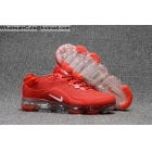 Nike Air VaporMax 2018.5 Red White Mens US7 - US13