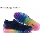 Mens & Womens Nike Air VaporMax Flyknit 2 Dark Blue Rainbow