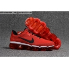 wholesale Nike Air VaporMax 2018 Red White Black Mens Size US7 - US13