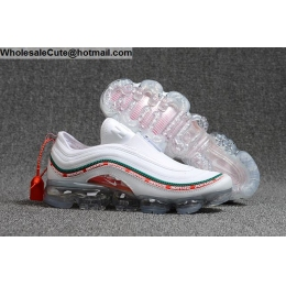 Undefeated 2018 Nike Air VaporMax 97 White Mens Shoes