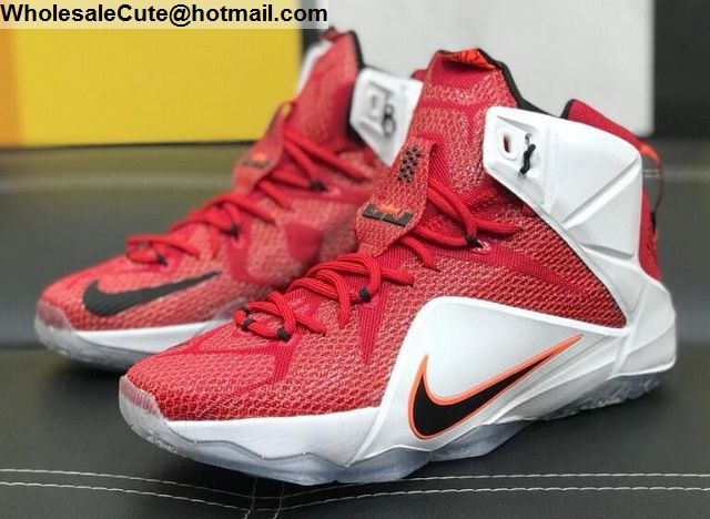 new style f2789 c700f Nike Lebron 12 Heart of a Lion Mens Basketball Shoes