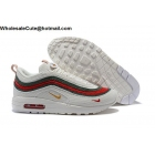 Mens & Womens Nike Air Max 97/1 Sean Wotherspoon White Red Green