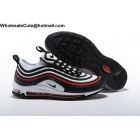 Nike Air Max 97 Ultra White Black Red Mens Shoes