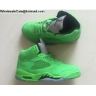 wholesale Air Jordan 5 Retro Green Mens Shoes