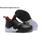 wholesale Nike LeBron Soldier 12 Bred Mens Shoes