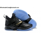Nike LeBron Soldier 12 Black Gold Mens Shoes