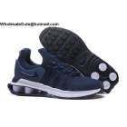 wholesale Mens Nike Shox Gravity Dark Blue White