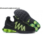 Mens Nike Shox Gravity Black Green