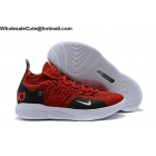 wholesale Nike KD 11 Red White Black Mens Shoes