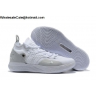 Nike KD 11 White Grey Mens Shoes