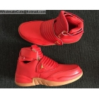 Jordan Generation 23 Red Gum Mens Basketball Shoes