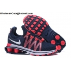 wholesale Womens Nike Shox Gravity Navy Pink White