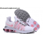 wholesale Womens Nike Shox Gravity White Pink Grey