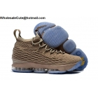 wholesale Nike LeBron 15 Beige Mens Shoes