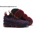 wholesale Nike LeBron 15 Cavs New Heights Mens Shoes