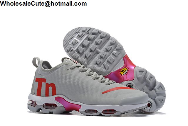 big sale ebb1a 753e1 Mens   Womens Nike Air Max Plus TN Ultra SE Grey Orange