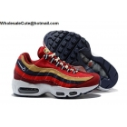 Mens & Womens Nike Air Max 95 Premium Red Crush