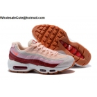 wholesale Nike Air Max 95 Essential Pink Wind Red Womens Shoes