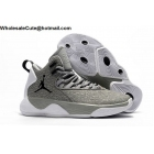 wholesale Jordan Super Fly MVP Phantom Grey White Mens Shoes