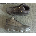 wholesale Jordan Pro Strong Black Gold Mens Shoes