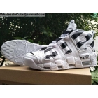 wholesale Mens & Womens Off White Nike Air More Uptempo White Black