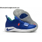 wholesale Nike PG 2.5 Blue White Paul George Mens Shoes