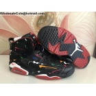 Air Jordan 6 Graffiti Black Womens Shoes