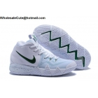 Nike Kyrie 4 White Green Mens Shoes
