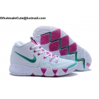 Nike Kyrie 4 White Pink Green Mens Shoes