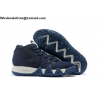 wholesale Nike Kyrie 4 Navy White Mens Shoes