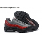 Nike Air Max 95 Essential Anthracite Grey Red Black Mens Shoes