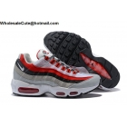 wholesale Mens & Womens Nike Air Max 95 Essential Red Grey Black