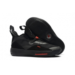 Air Jordan 33 Black Red Mens Shoes
