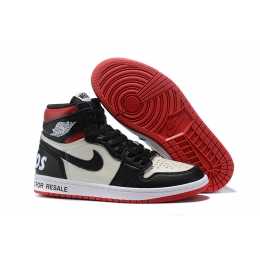Air Jordan 1 Retro High OG No Ls Not For Resale Varsity Red Mens Shoes