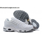 Nike Air Max Plus TN All White Mens Shoes
