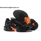 Nike Air Max Plus TN Tuned Black Orange Mens Shoes