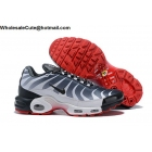 Nike Air Max Plus TN Tuned 1 Shark White Navy Red Mens Shoes