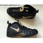 Nike Air Foamposite Pro Black Metallic Gold Mens Shoes