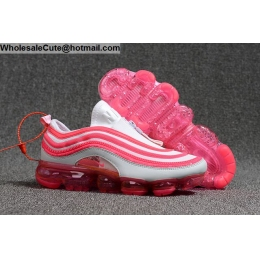 Nike Air Vapormax 97 White Pink Womens Shoes