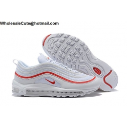 Nike Air Max 97 OG White Red Mens Shoes