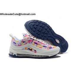 Mens & Womens Nike Air Max 97 Confetti White