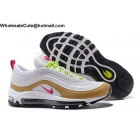 Nike Air Max 97 Light Bone Deadly Pink Womens Shoes