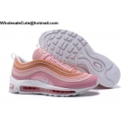 wholesale Nike Air Max 97 Premium Pink White Womens Shoes