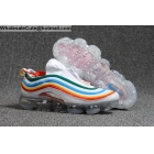wholesale Nike Air Vapormax 97 White Rainbow Womens Shoes