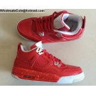 wholesale Air Jordan 4 Retro Red White Womens Shoes