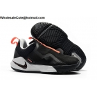 wholesale Nike LeBron Ambassador 11 Black White Orange Mens Shoes