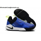 wholesale Nike LeBron Ambassador 11 Blue Volt Black Mens Shoes