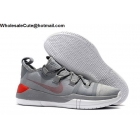 wholesale Nike Kobe AD EP Grey Red White Mens Shoes
